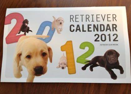 毎年恒例、付録カレンダーが素敵な件【犬バカ】「RETRIEVER」 2012年 01月号(エイ出版社)