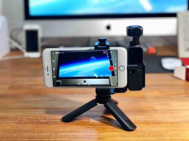 「Ulanzi OP1 DJI Osmo Pocket用スマホホルダー」:撮影状況をしっかり確認したいなら