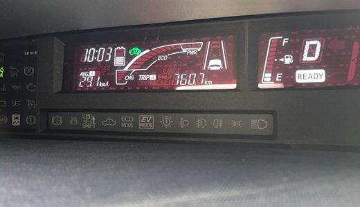 【アクア燃費】最初の満タン法での燃費計算結果は・・・