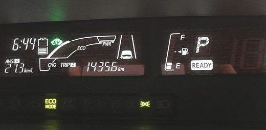 クーラーではそれほど燃費は落ちない!?【アクア燃費】13、14回目の満タン法燃費計測結果