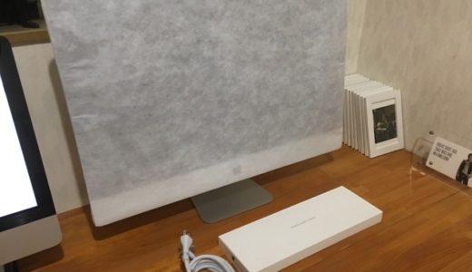 iMac開封の儀(後編)【iMac】背中に惚れたぜ!中身はこれから