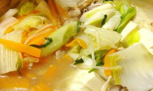 お試しあれ!【料理】超簡単博多風水炊き