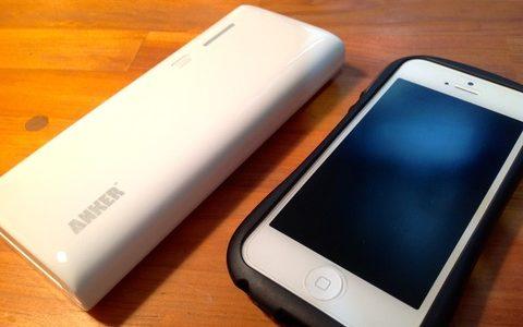 白いボディーが美しい安心の大容量【周辺ガジェット】ANKER Astro M3 モバイルバッテリー 13000mAh