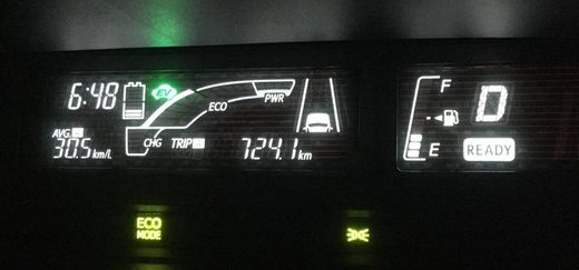 あと一歩でリッター30Kmに【アクア燃費】17回目の満タン法燃費計測結果