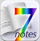 【iPadバカ】7notesがすごすぎる件