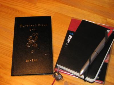 【手帳】旅人手帳は卓上カレンダーに