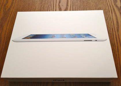 やっと来た!【iPad】開封の儀執り行いました!