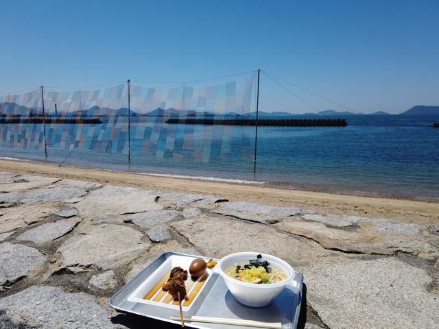 瀬戸内国際芸術祭2019 沙弥島【旅ログ】アートを体感し、波の音を聞きながらうどんを食す