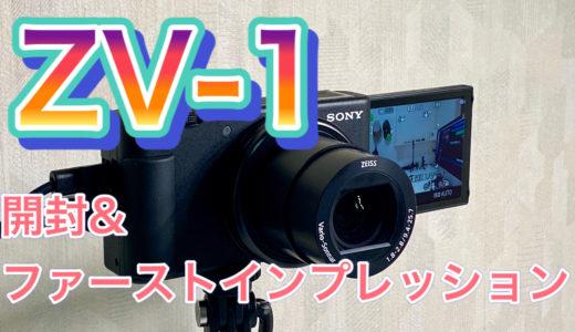 SONY VLOGCAM ZV-1【レビュー】気軽に高画質撮影を始めたいYouTuberにぴったりの高性能コンデジ