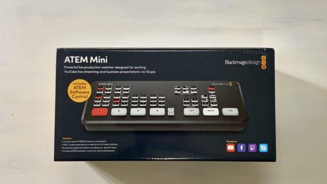 Blackmagic Design ATEM Miniパッケージ