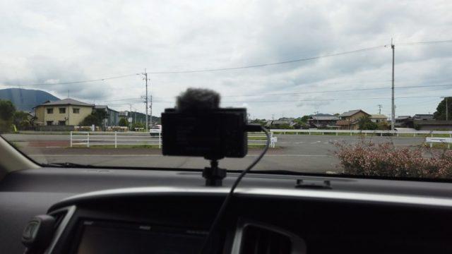 ZV-1で車載タイムラプスを撮影
