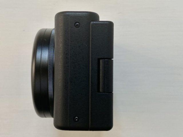 ZV-1カメラ左側面