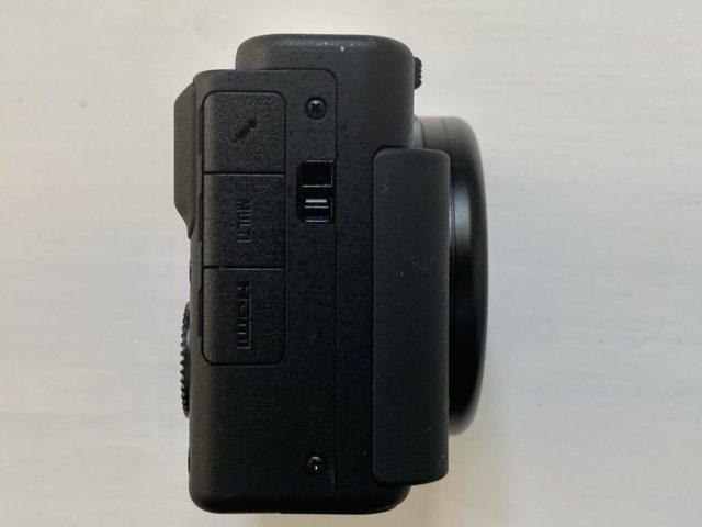 ZV-1カメラ右側面