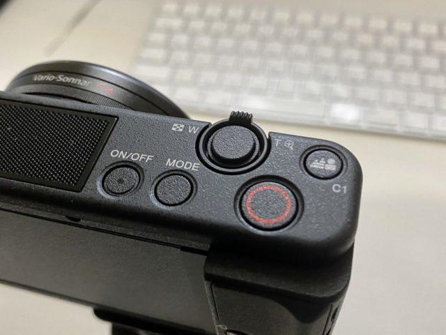 ZV-1操作ボタン群