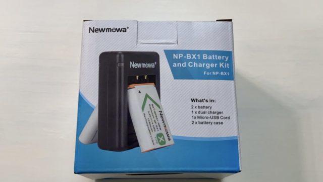 Newmowa NP-BX1 充電器キットバッケージ