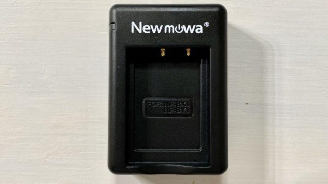 Newmowa NP-BX1 充電器キットサイズは65×45×21mm、重さは23g
