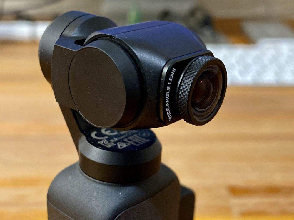 「Ulanzi Wide Angle Lens 2020」(Osmo Pocket用ワイドコンバージョンレンズ):圧倒的に画質改善、オズポケ用ワイコンはこれ一択で決まり