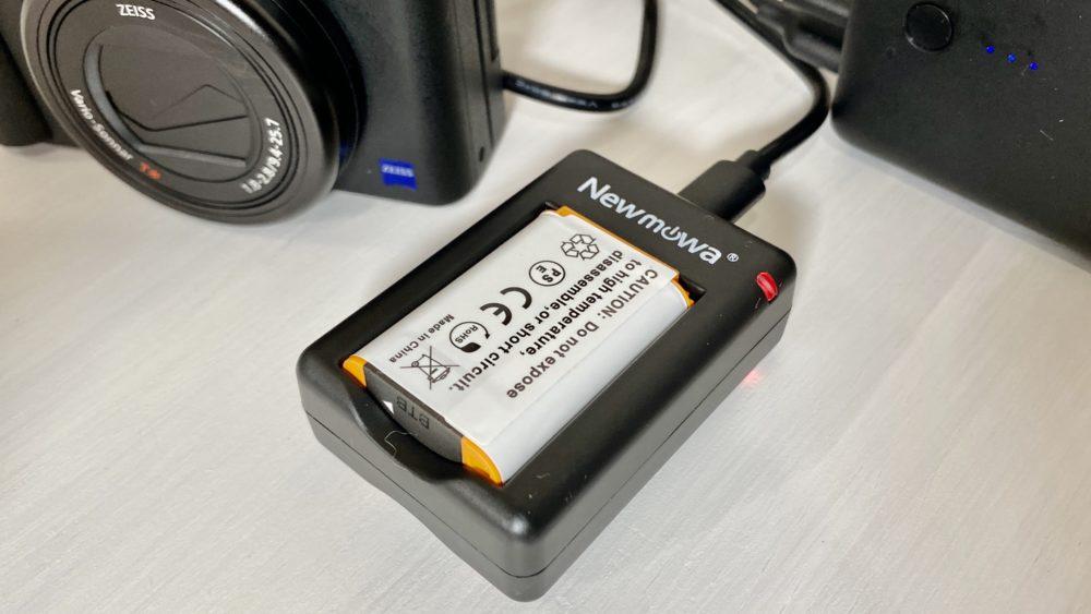 「Newmowa NP-BX1 充電器キット」